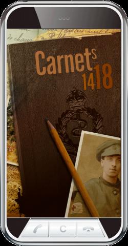 En vacances dans la maison familiale, Guillaume Naylor, tombe sur un vieux carnet . Il y découvre le témoignage poignant de son arrière-grand-père, Andrew. Envoyé sur les fronts de Belgique puis de France, ce jeune brancardier britannique y vit les grandes offensives de 1914 à 1918 et nous livre son récit de la Grande Guerre. Suivez les aventures d'Andrew d'Ypres au Chemin des Dames, en passant par les champs de batailles de l'Artois et de la Somme. Téléchargez vite l'application Carnets…
