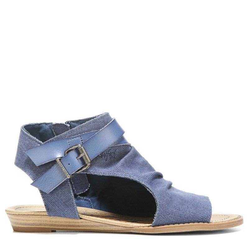 864bb4f03912 Blowfish Women s Balla Sandals (Indigo) - 7.5 M