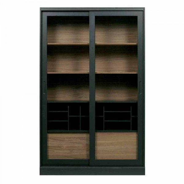Vitrine Jimme (schwarz)   Vitrine, Modernes möbeldesign