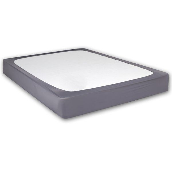 Simply Stretch The Stylewrap Box Spring Cover Over Your Mattress And