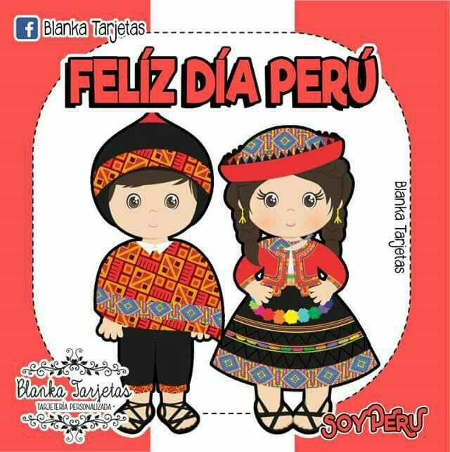 Orgullosa De Ser Peruana F Felices Fiestas Patrias Peru
