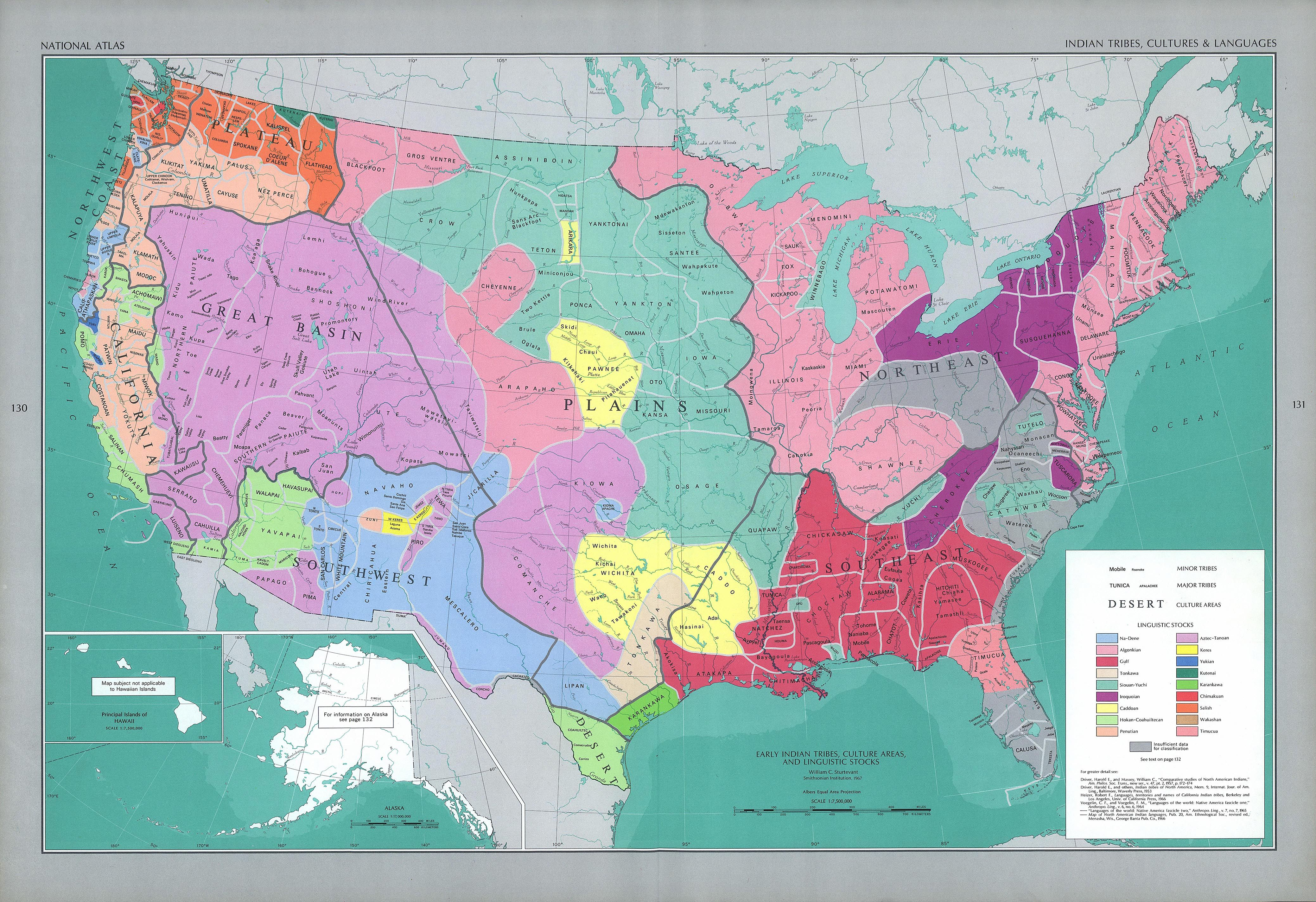 Native American Population And Distribution Before Colonization