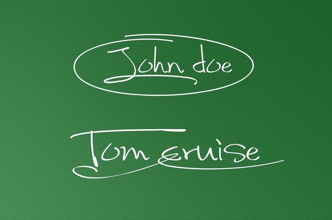 Fancy Signature TrueType Font by alphadesign on