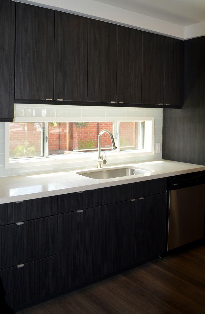 Flip House Remodeled Kitchen Tab Pulls Flat Panel