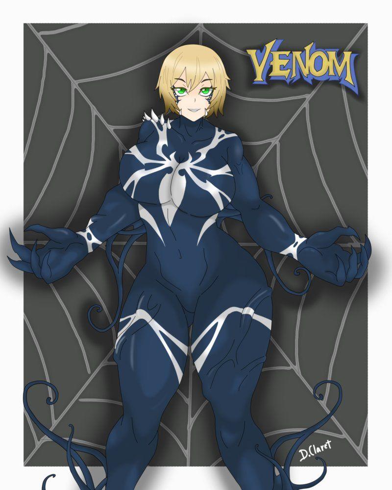 She Venom Back In Black By Dclaret