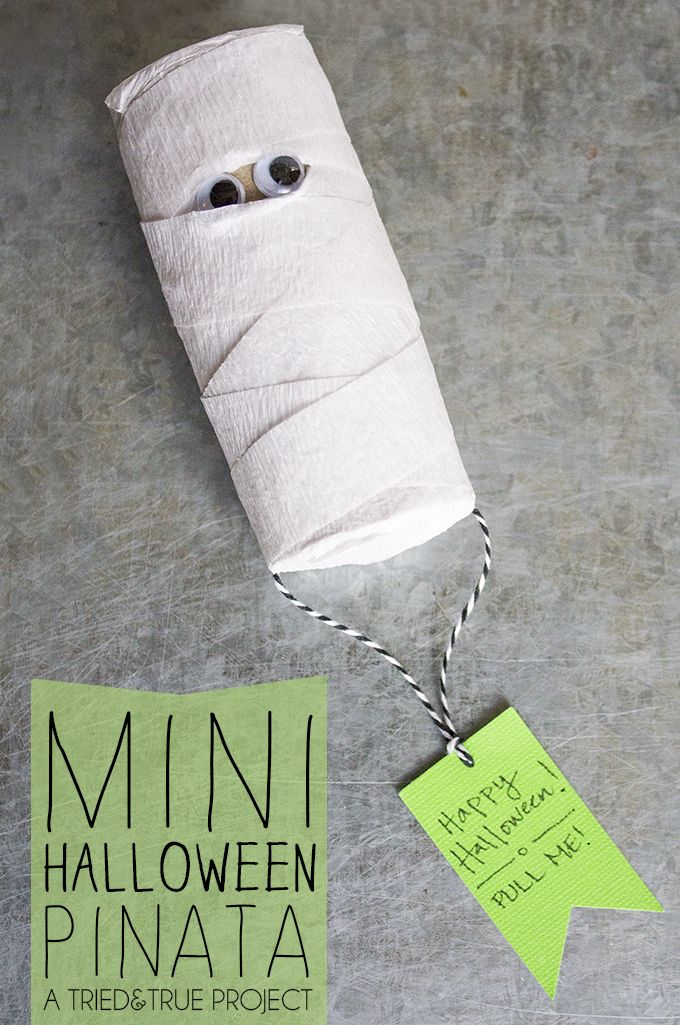 how to make a mummy costume with toilet paper