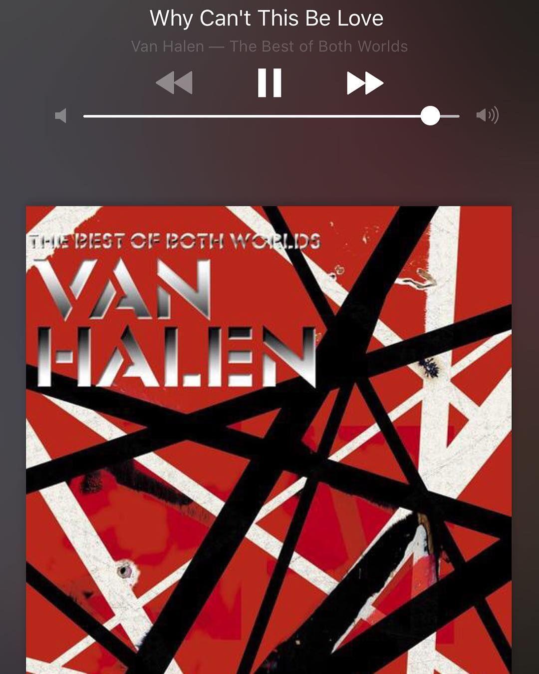 Instagram Photo By Erika May 17 2016 At 10 02pm Utc Van Halen Van Halen Album Covers Halen