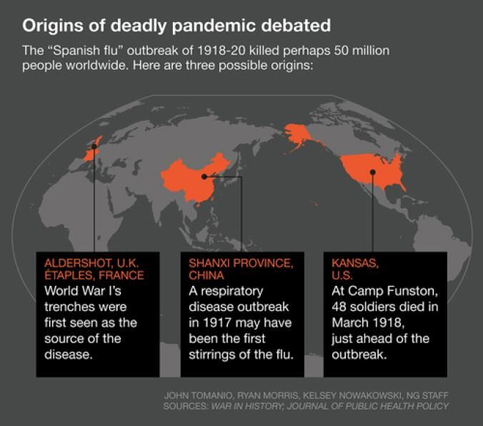 Image result for spanish flu war in history journal of public health policy