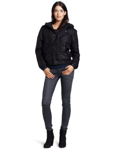 Amazon.com: G-Star Women's Flight Duty Hooded Bomber Jacket: Clothing...right look and fabric wrong cut?