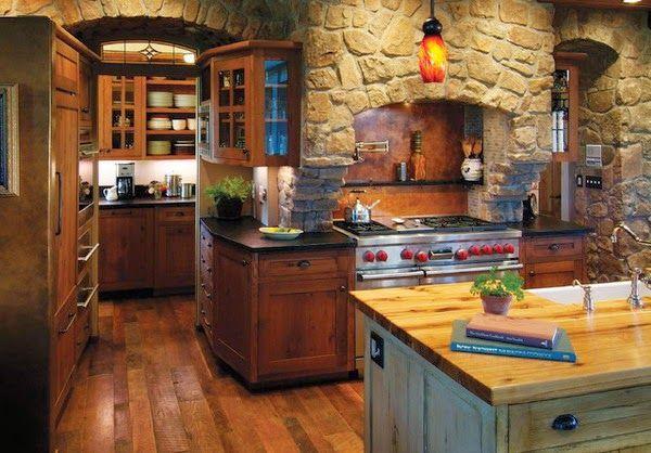 resultado de imagen para cocinas de campo decoracion