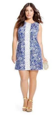 1d0c74330d6a0c Lilly Pulitzer for Target Women's Plus Size Shift Dress 20W Upstream FREE  SHIP #LillyPulitzerforTarget #Shift #Casual