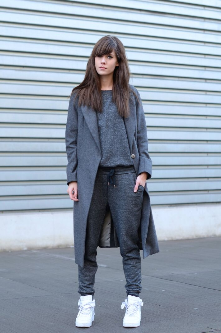 George Eliot Asentar Barriga  AF1 (nike, air, force, 1,one,grey) | Nike air force outfit, Tomboy fashion,  Outfits with leggings