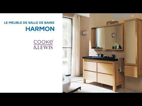 Meuble de salle de bains Volga COOKE \ LEWIS (630016) Castorama - enlever carrelage salle de bain
