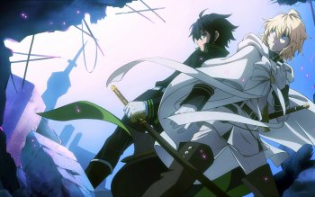 155 Seraph Of The End Hd Wallpapers Background Images Wallpaper Abyss Mikaela Hyakuya Owari No Seraph Seraphim