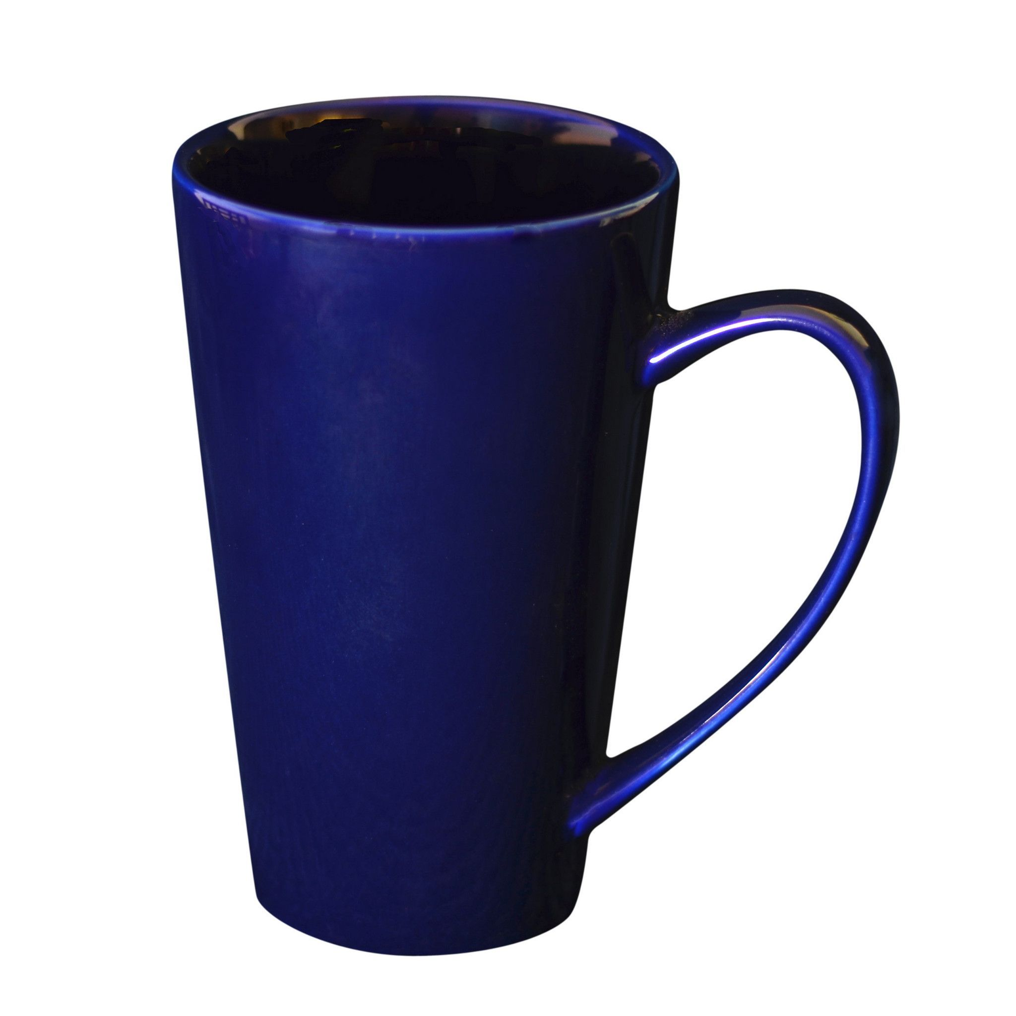 24 Oz. 4 1/4L x 3W x 7H Oversized Latte Mug Plum/Case Of 12