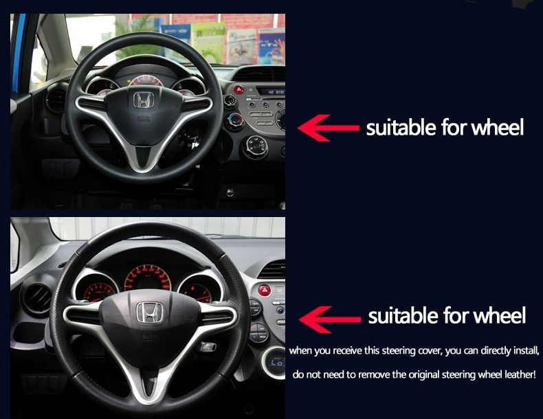 Bannis Black Artificial Leather Diy Hand Stitched Steering Wheel Cover For Honda Crv 2012 2014usd 23 00 Pieceb Steering Wheel Cover Steering Wheel Leather Diy