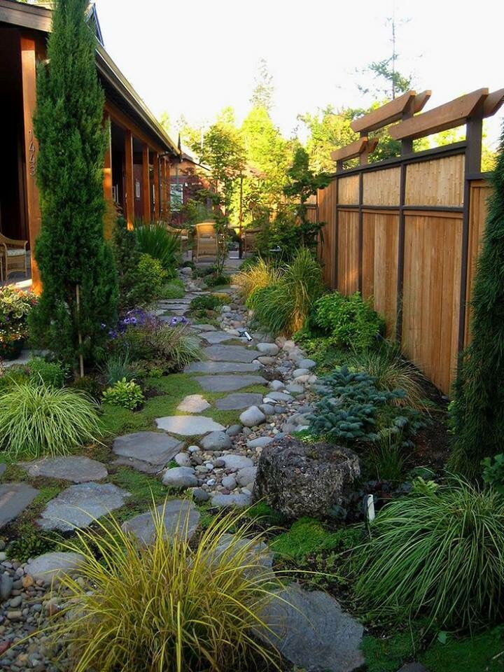 Fence Ideas More 55 Backyard Landscaping Ideas