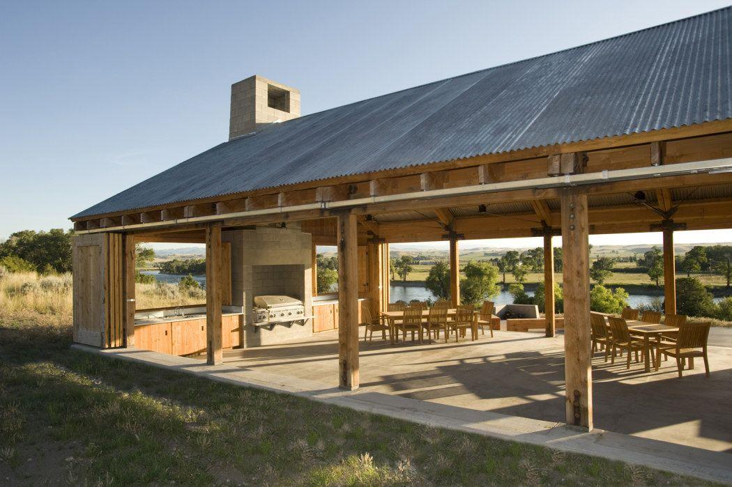 Outdoor Pavilion, Outdoor Pavilion Plans