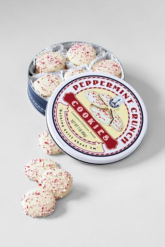 Peppermint Crunch Cookies From Lands End 27 50 For A Small Tin