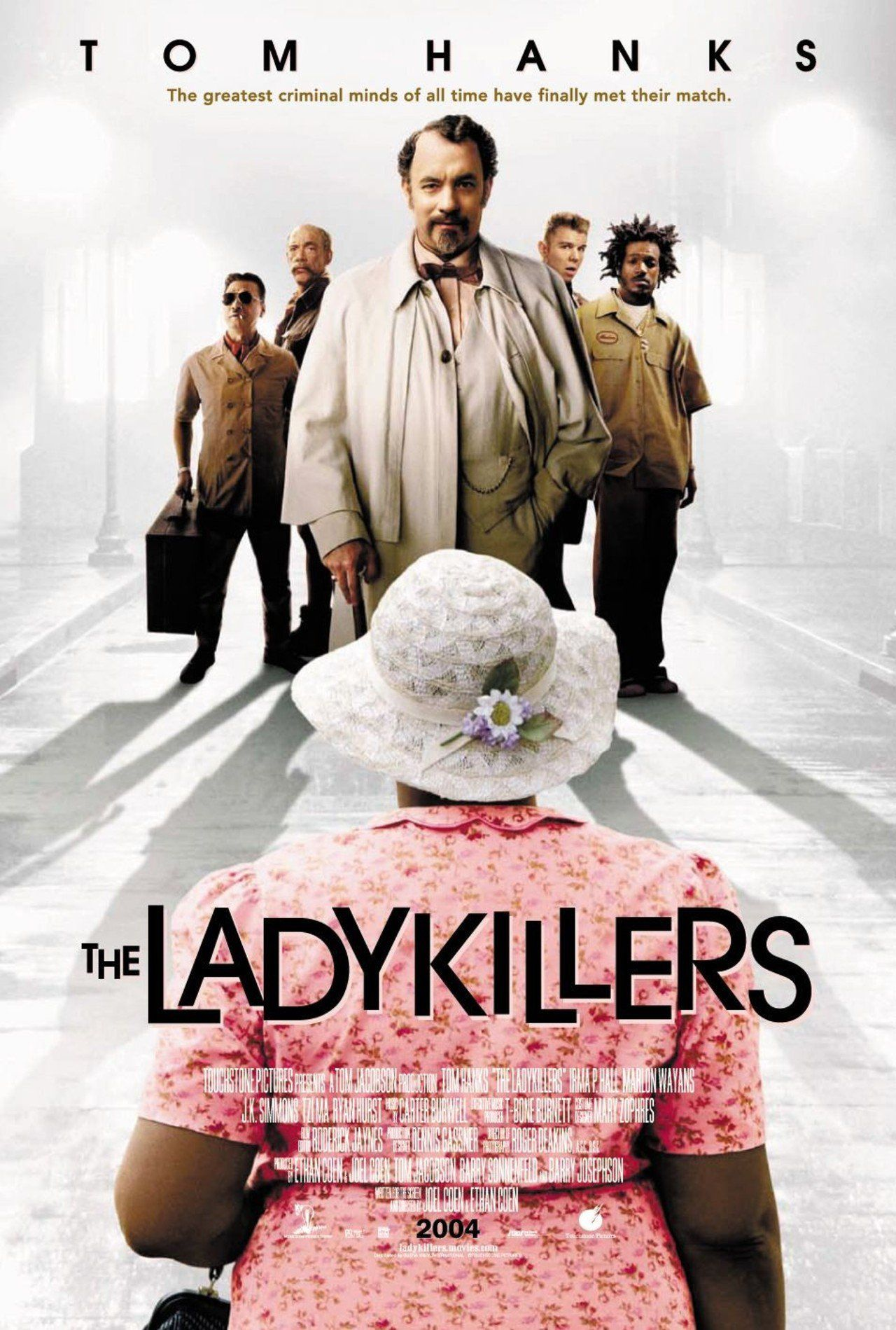 """""""The Ladykillers"""" movie poster, 2004. Tom hanks, Comedy"""
