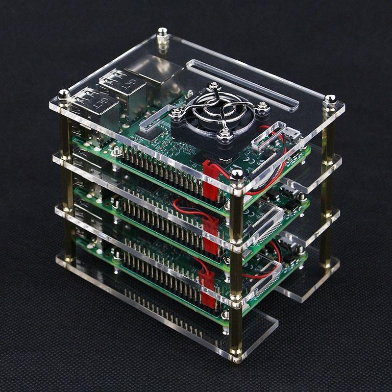 For Raspberry Pi 3 Model B+//3B//2B//B Enclosure Box Retro Game Housing Case Shell