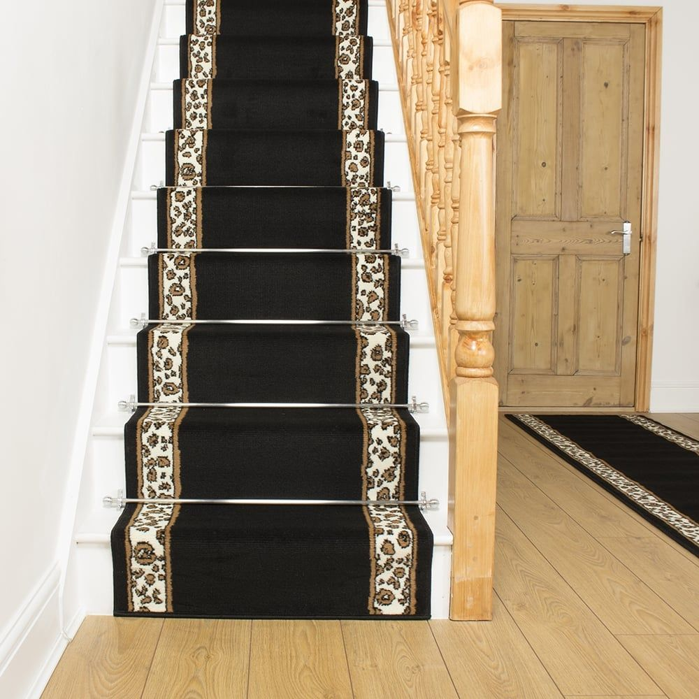 Best Leopard Border Stair Runner Carpet Size Carpet Flooring 640 x 480