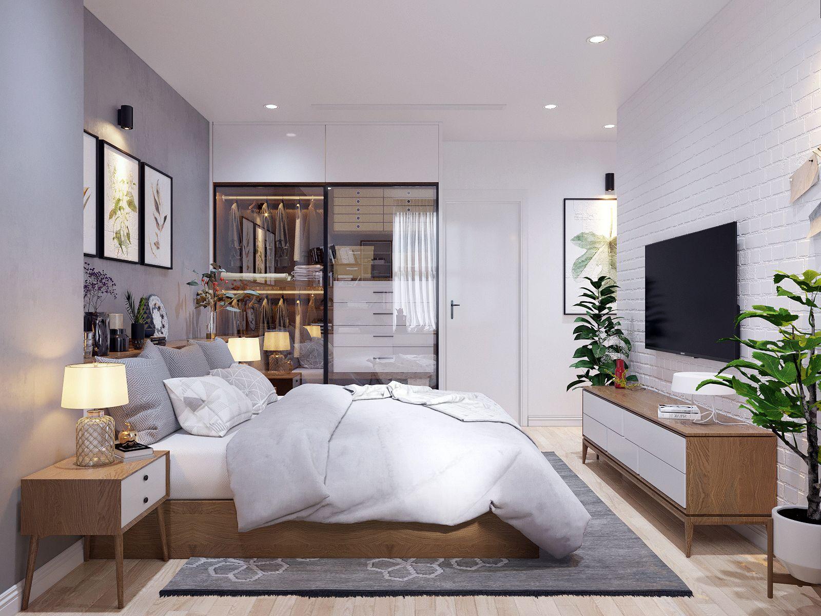 Modern Scandinavian Style Home Design In 2020 Scandinavian Style Home Home Decor Bedroom Bedroom Interior
