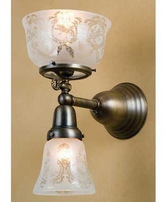 Auburn Gas/Electric Victorian Style Wall Sconce & Auburn Gas/Electric Victorian Style Wall Sconce | lamps and lighting ...