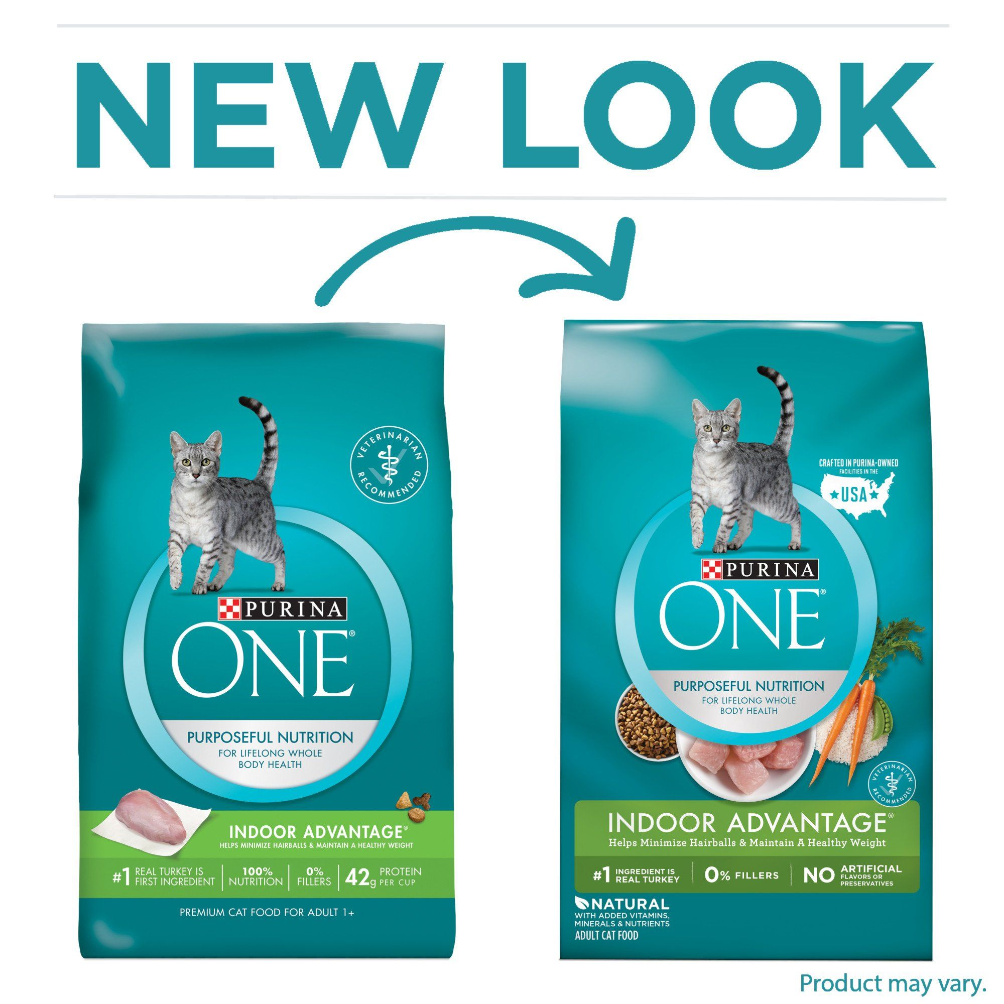 Purina One Hairball Weight Control Indoor Advantage Natural Dry