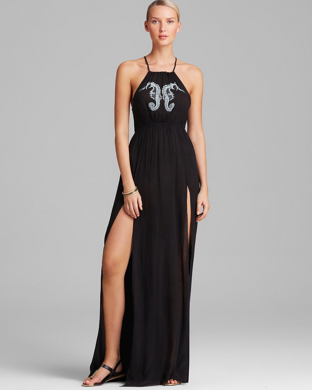 292d2d0bd4 WILDFOX Seahorse Gigi Swim Cover Up Maxi Dress