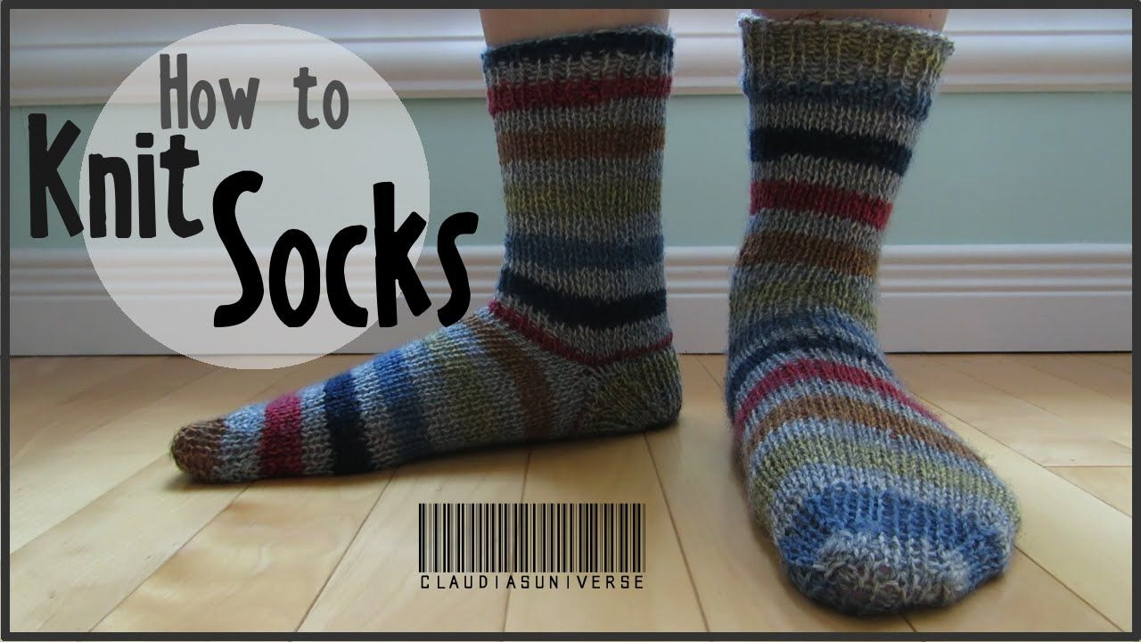 How to Knit Socks (With images) | Sock knitting patterns ...