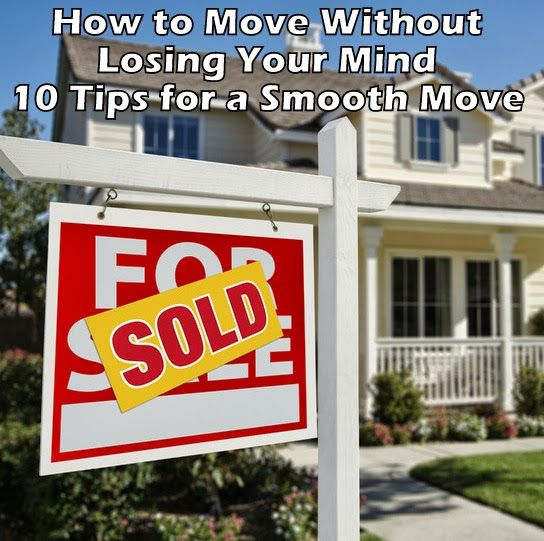 Affordable Apartments For Rent: DesignDreams By Anne: Moving 101 Or How To Move Without