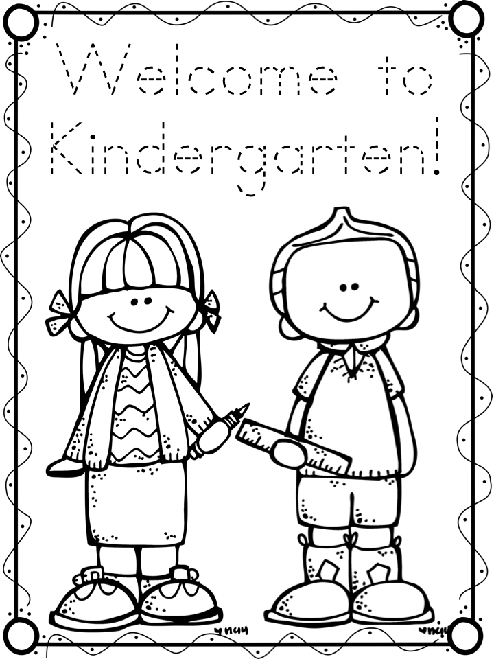 kindergarten coloring pages school - photo#36