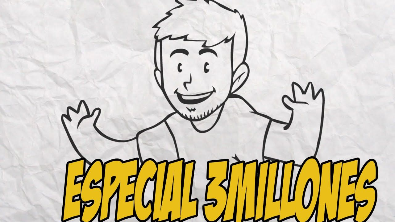"""ESPECIAL 3 MILLONES """"Draw my Life Animado"""""""