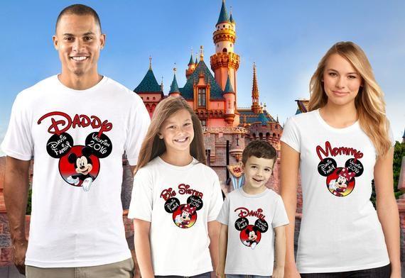 Disney Family Birthday Shirt Custom Personalized Shirts