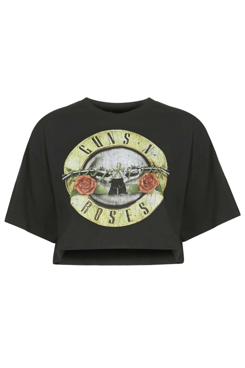 f4aea6dbe Guns And Roses Crop Top By And Finally - Tops - Clothing | Topshop ...