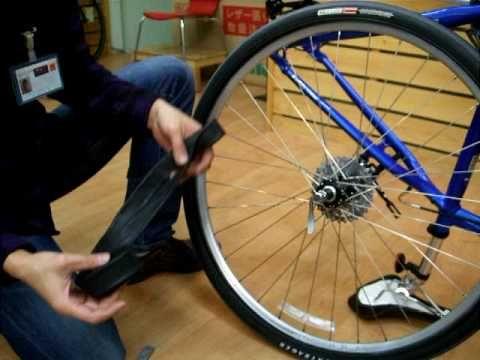 自転車 チューブ交換 パンクしたら 自転車 パンク チューブ