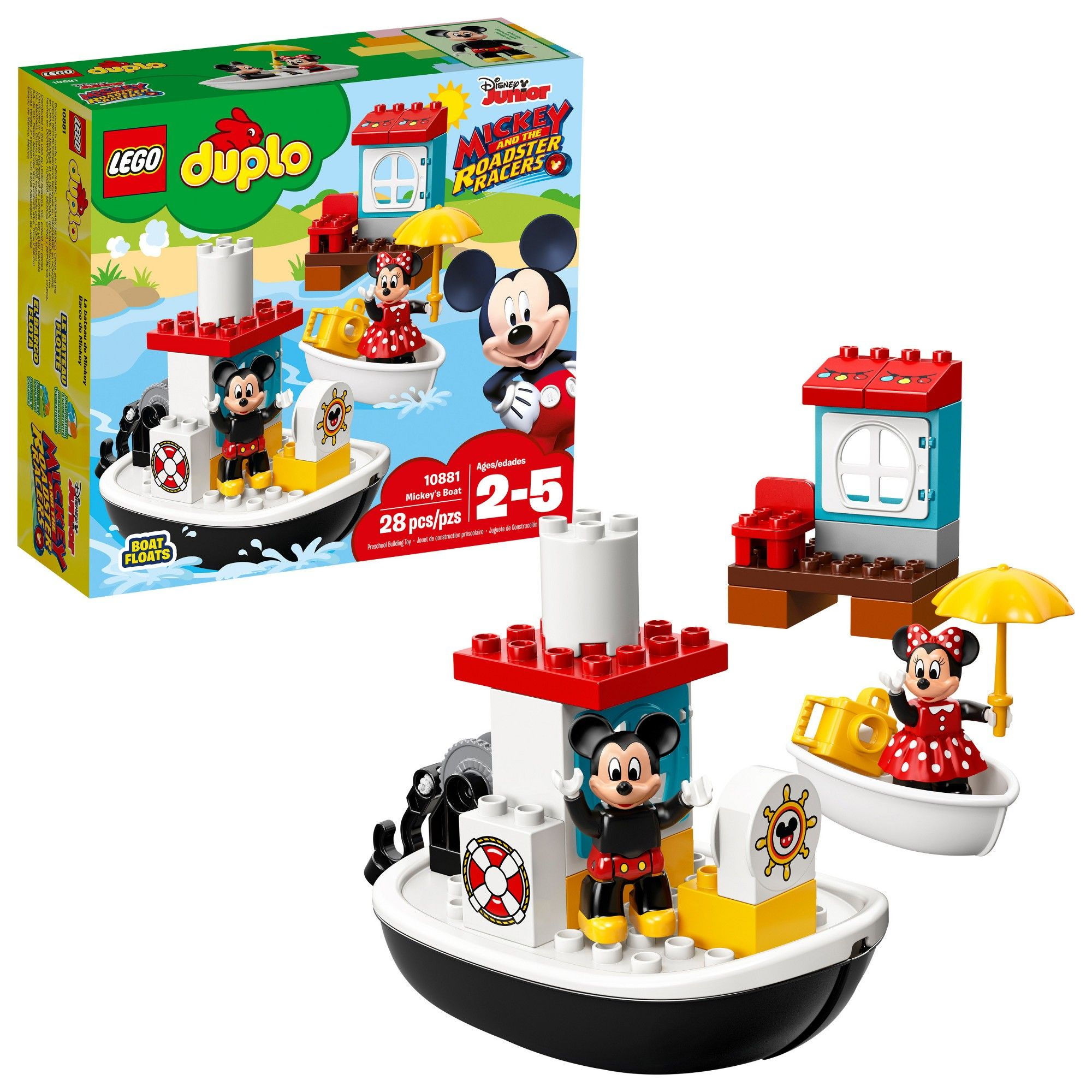 Lego Duplo Disney Mickey Mouses Boat 10881 Products Lego Duplo