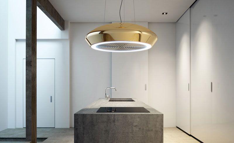 Afzuiglamp kap recirculatie, verkrijgbaar in verschillende kleuren - haecker lack matt schwarz