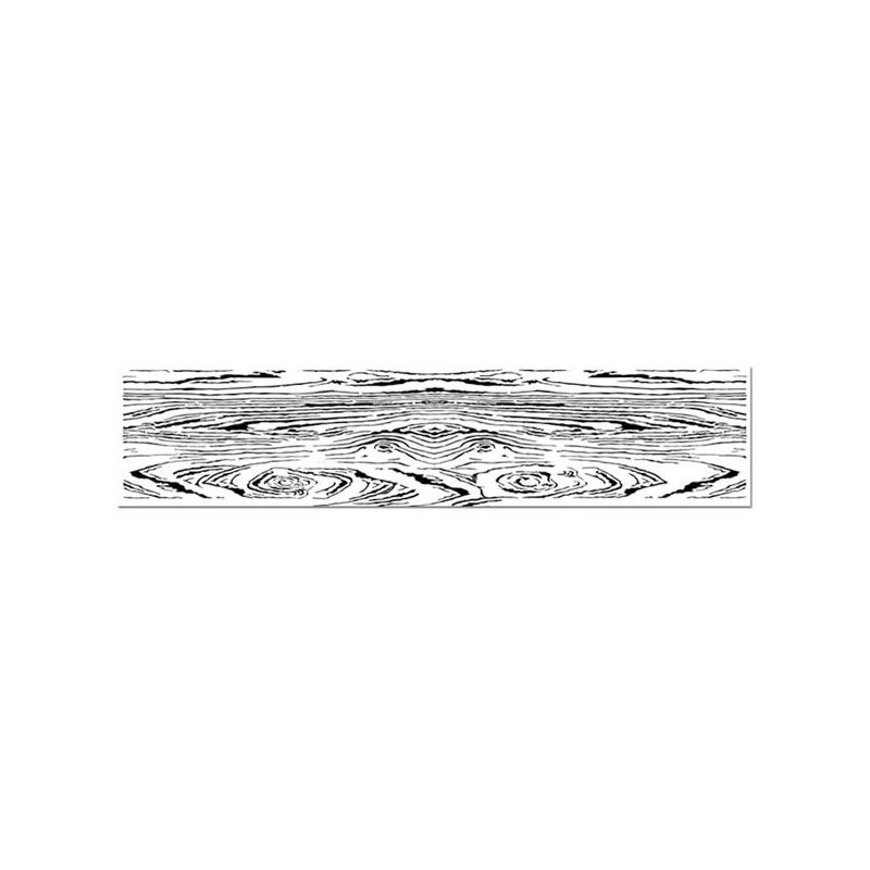 High Definition Stamp Cm. 4x18 Wood Grain By Stamperia For
