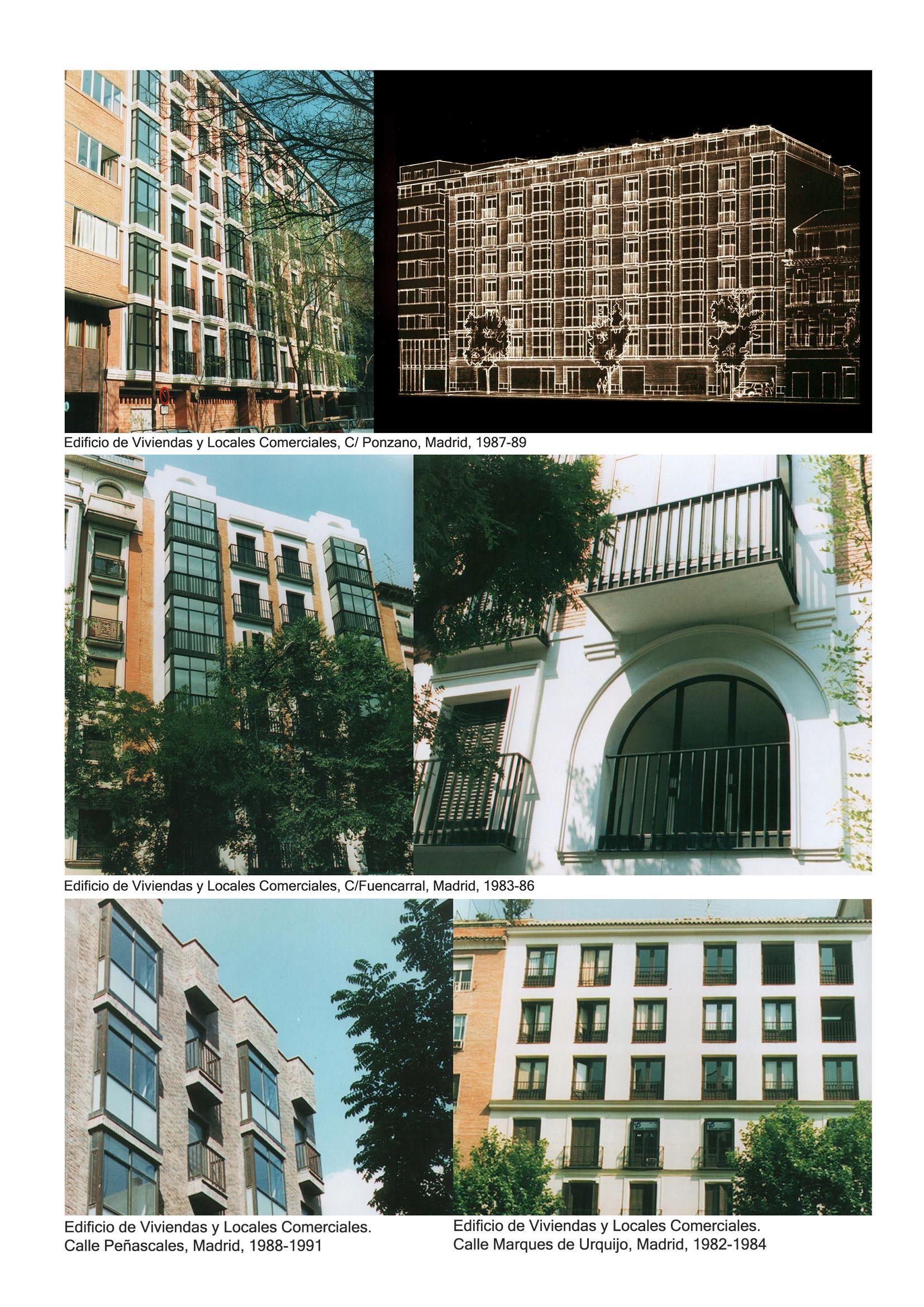 Edificios de Apartamentos 1982-1989