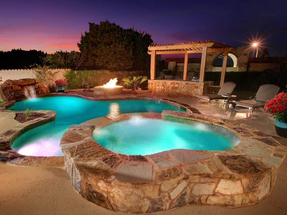Designer Pools Outdoor Living Central Texas Pool Builder Austin Contractor Swimming Spa Landscaping
