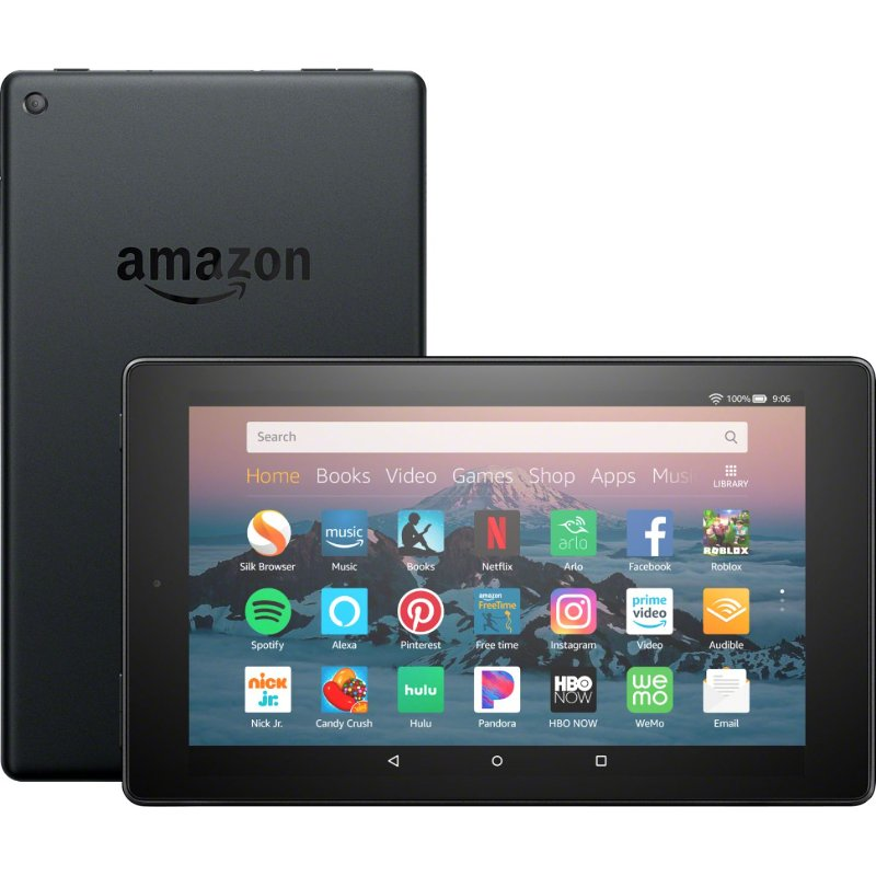 Amazon Kindle Fire Hd 8 16gb Tablet Black Amazon Kindle Fire