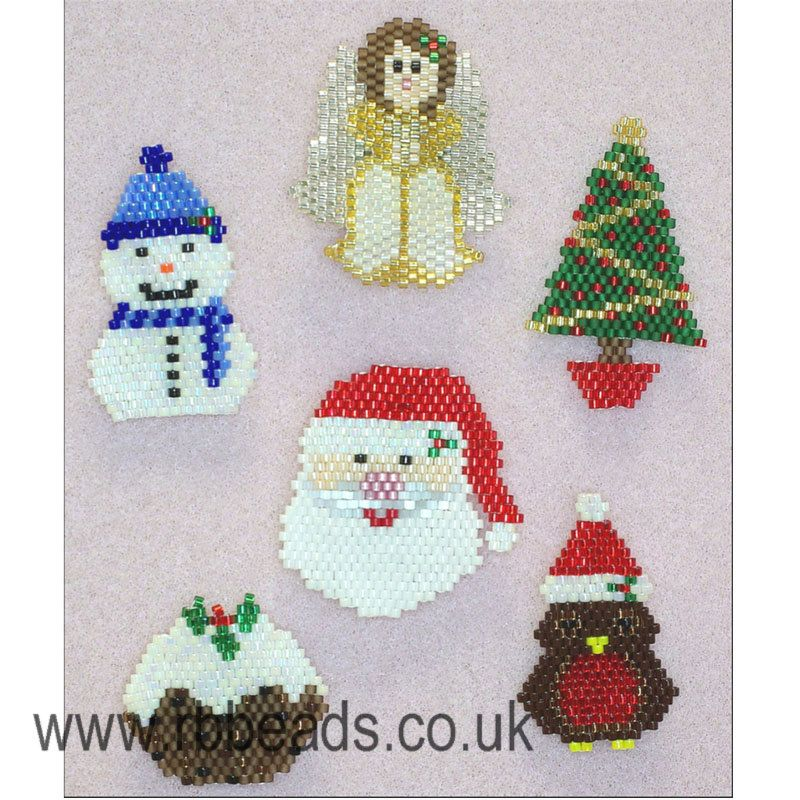 how to make christmas brooches