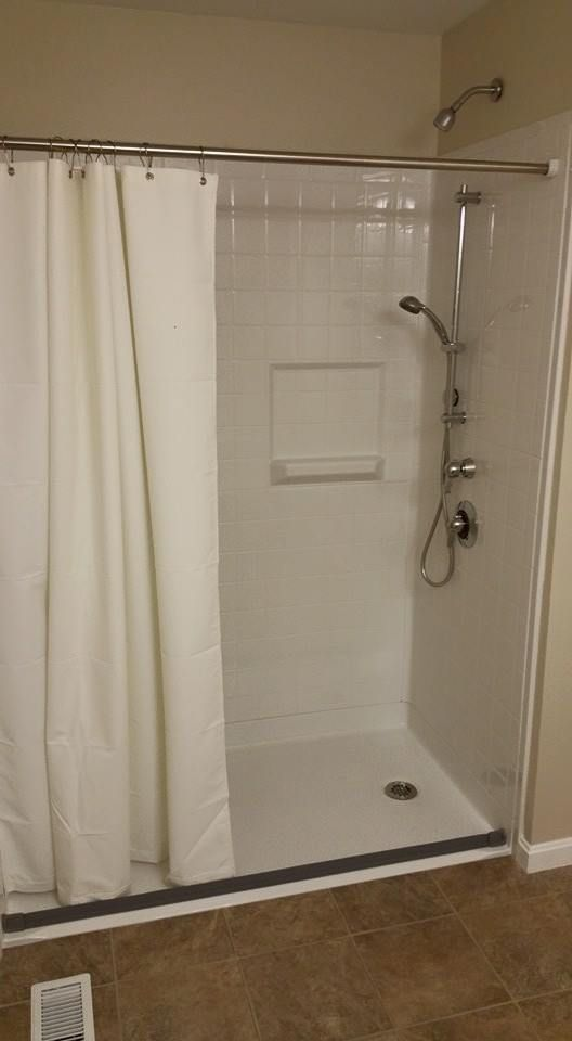 #improvinglife Walk in/Roll In Showers