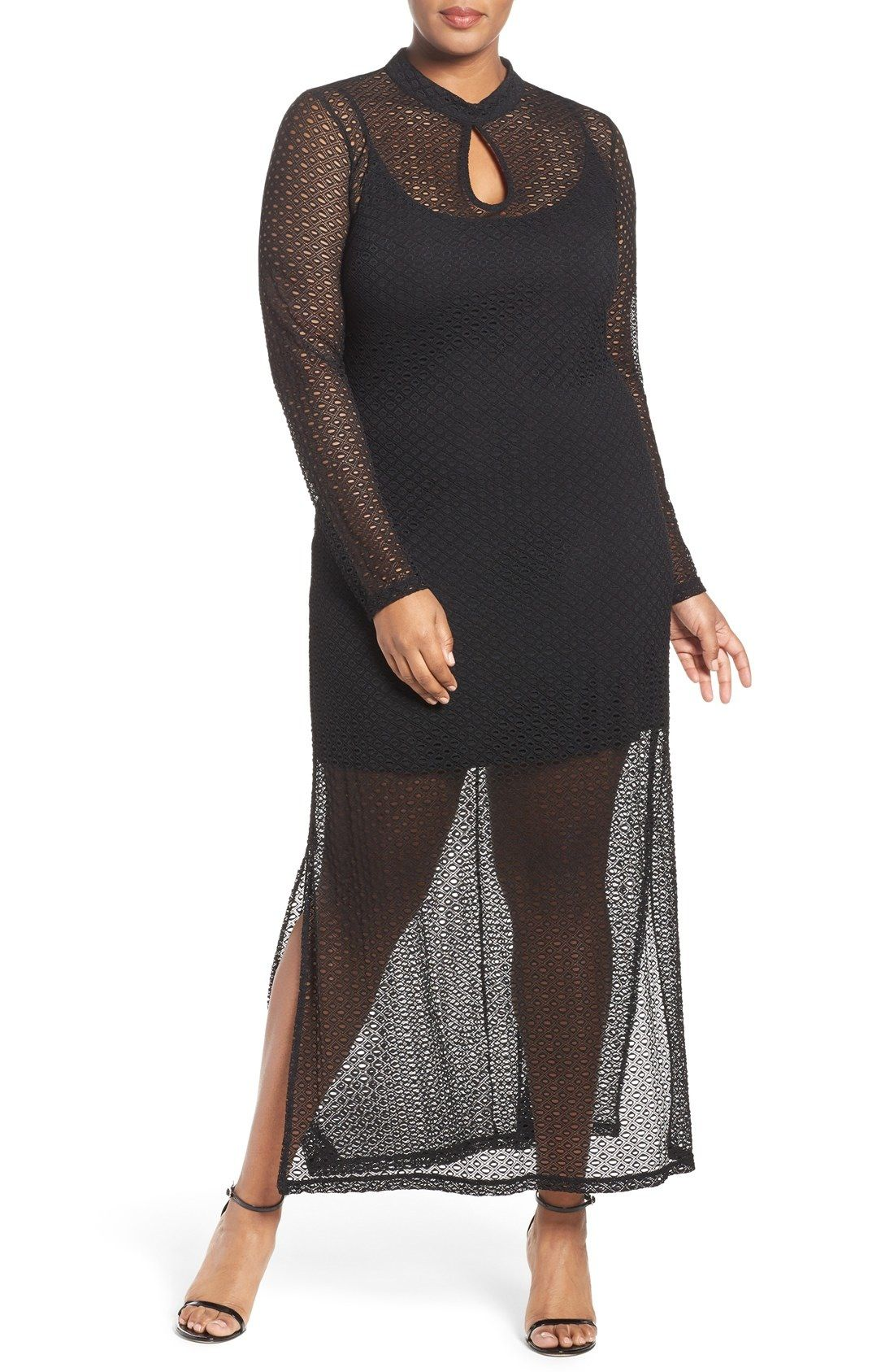 City chic lady luxe maxi dress plus size nordstrom