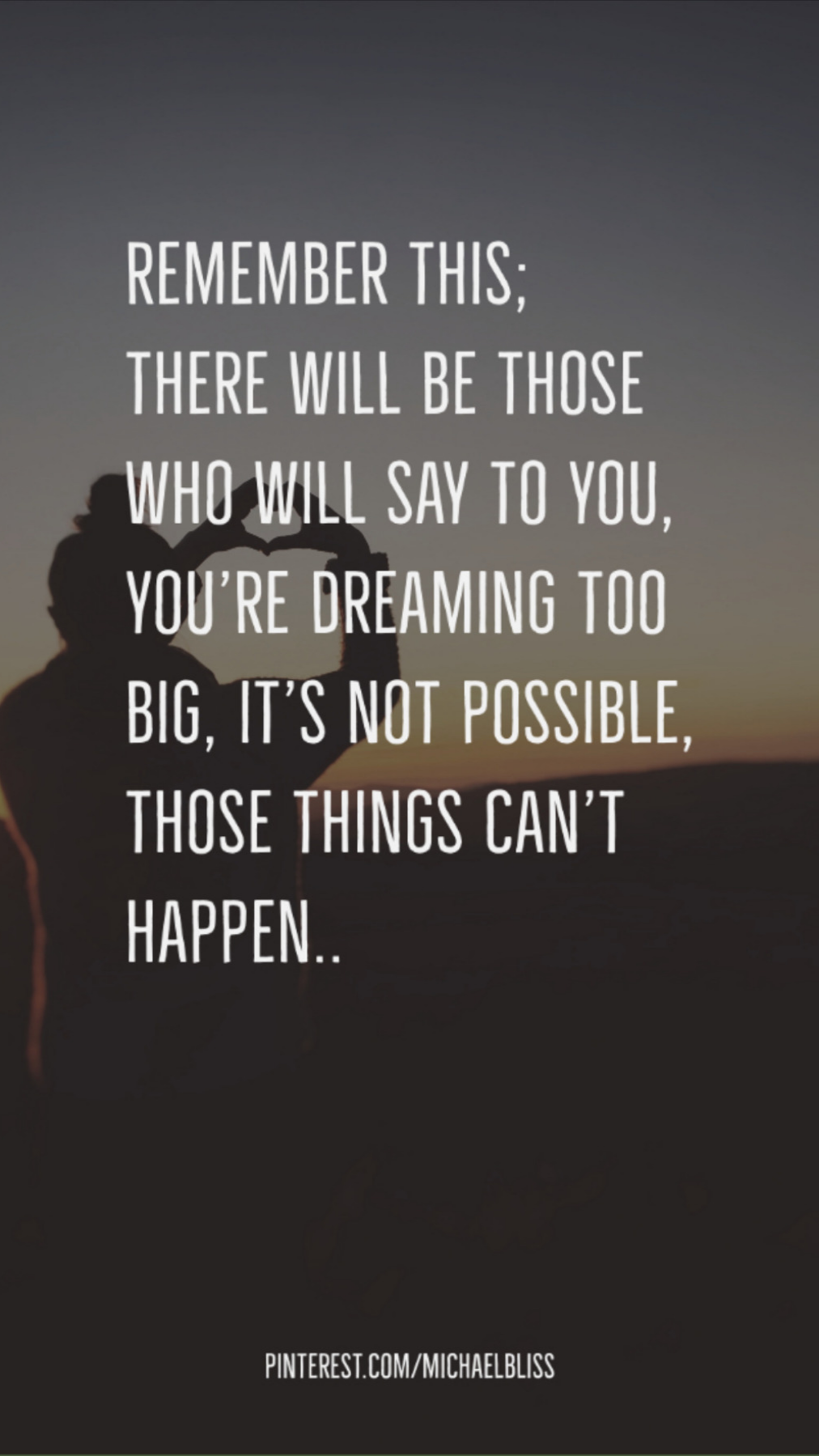 It is possible..