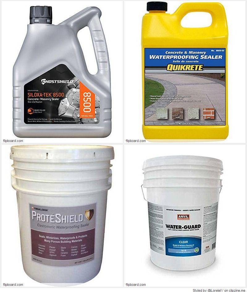 Top 10 Best Waterproof Deep Penetrating Concrete Sealer Reviews On Flipboard Concrete Sealer Concrete Sealer