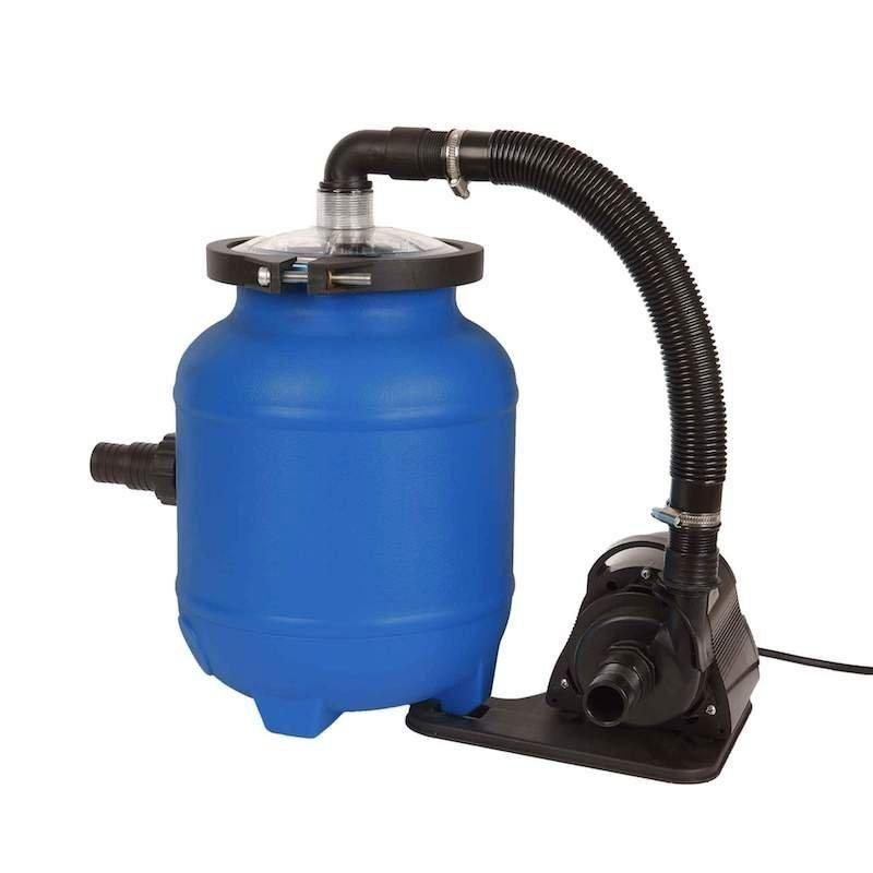 Blue wave products 16in above ground filter system with