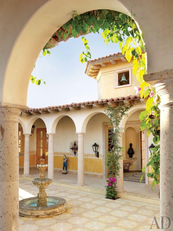 Home Tour Heavenly Sunshine Villa In Mexicobetterdecoratingbible Spanish Style Homes Hacienda Style Homes Hacienda Homes
